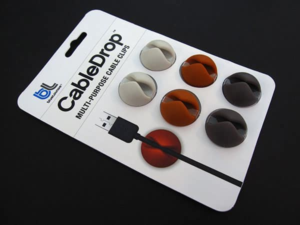 Review: blueLounge CableDrop Multi-Purpose Cable Clips
