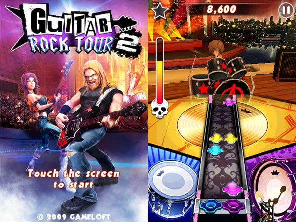 iPhone Gems: Guitar Rock Tour 2, Ricky, StarPagga + Triazzle