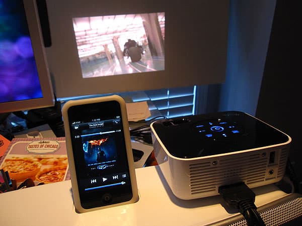 Geeking Out Right Now, or, the iPod/iPhone Mini Home Theater