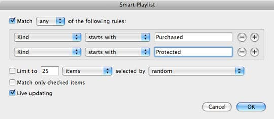 Tracking purchases in iTunes