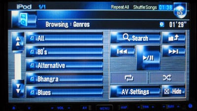 Review: Pioneer AVIC-Z1 Navigation System with CD-IB100II iPod Adapter