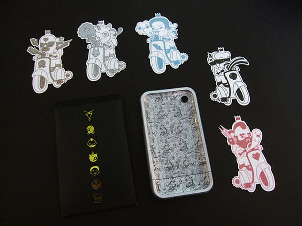 First Look: Rebel Scholar Cases for iPhone 3G + 3GS