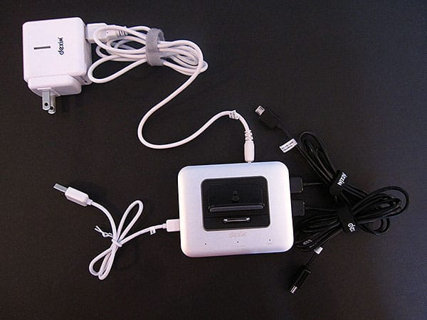 Review: Dexim MHub Dock Station for iPhone/iPod/Blackberry