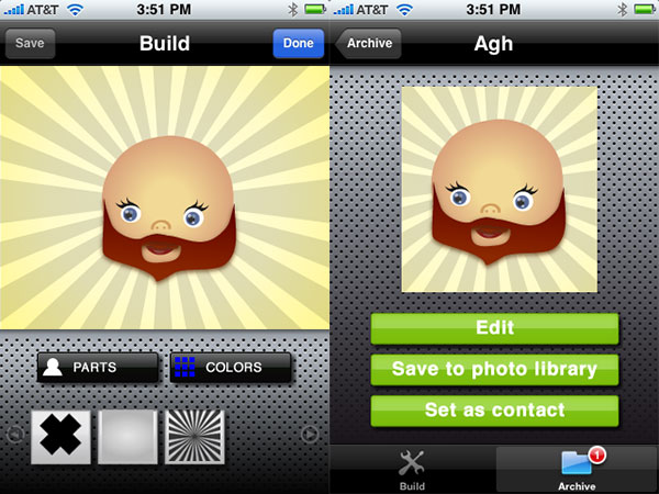 Weird + Small Apps: Persona, Photo Resize, Volkswagen Polo Challenge, Force Archer + Luigi Vs Pac