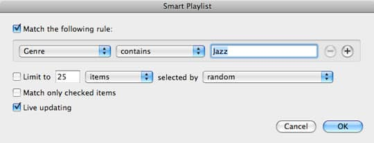 Splitting iTunes library across two iPods