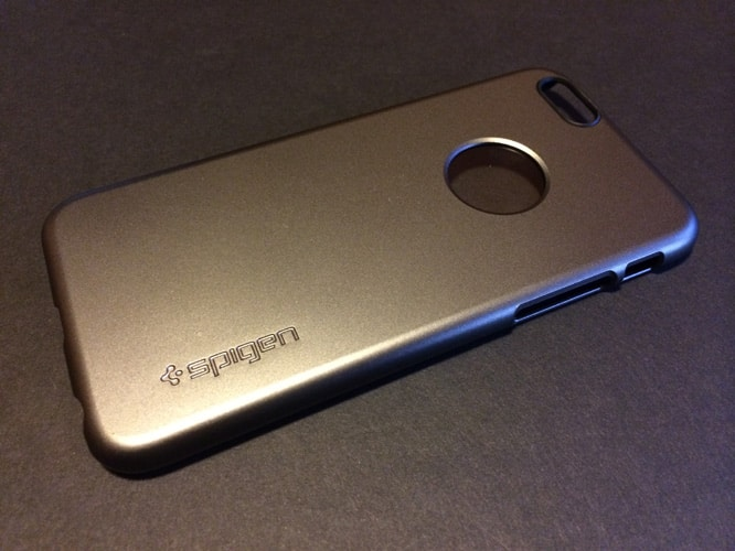 First Look: Spigen Aluminum Fit + Thin Fit / A for iPhone 6