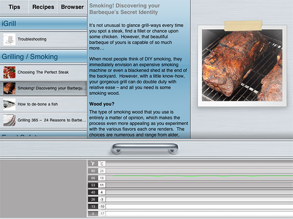 Review: iDevices iGrill Bluetooth Cooking Thermometer for iOS Devices