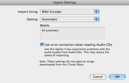 iPod nano voice memo format