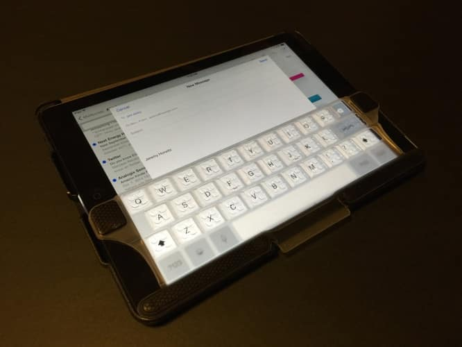 Review: Touchfire Case and Keyboard for iPad Air