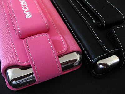 Review: Incase Leather and Neoprene Sleeves for iPod classic
