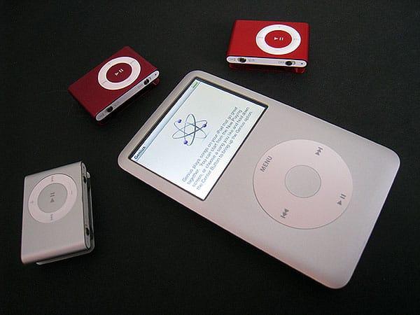 On iPod Generations: 2008's iPod shuffle and iPod classic