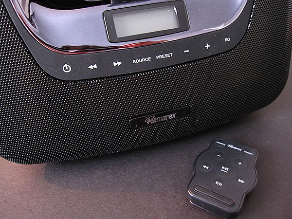 Review: Memorex miniMove mi3x Portable Boombox for iPod