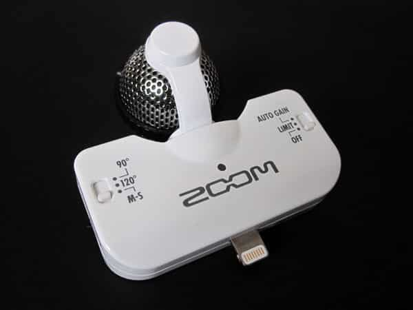Review: Zoom iQ5 Professional Stereo Microphone with Lightning Connector