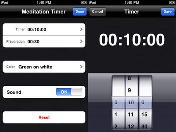 Review: Meditation Timer by Lingon i Korg