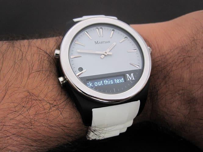 Review: Martian Watches Martian Notifier
