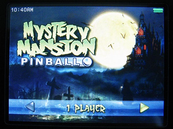 Review: Gameloft S.A. Mystery Mansion Pinball