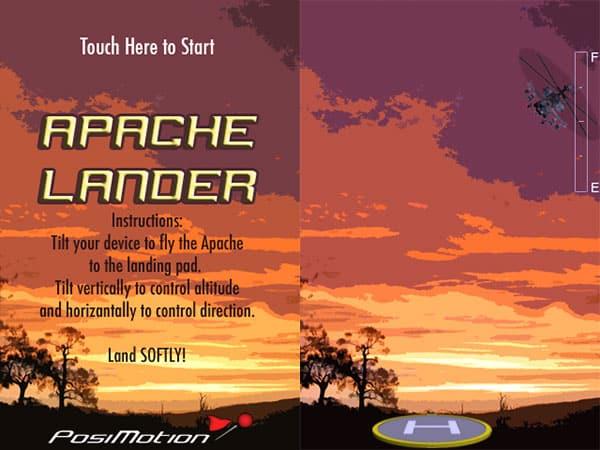Review: Apache Lander by PosiMotion