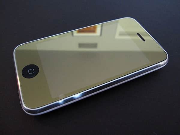 First Look: Capdase Mira Silver Glass Mirror ScreenGuard for iPhone 3G + iPod touch 2G