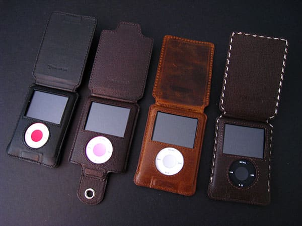 Review: Tunewear Prie Rawhide and Moccasin Cases for iPod nano