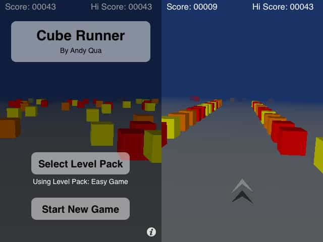 Review: Cube Runner by Andy Qua
