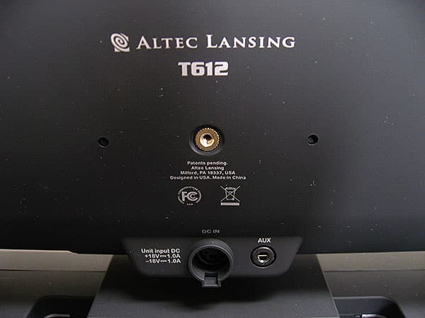 Review: Altec Lansing T612 Digital Speaker System for iPhone and iPod
