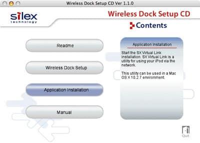 Review: Silex Technology wiDock Wireless Dock for iPod