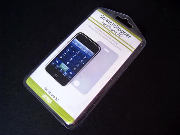 First Look: Artwizz MirrorFilm and ScratchStopper for iPhone 3G