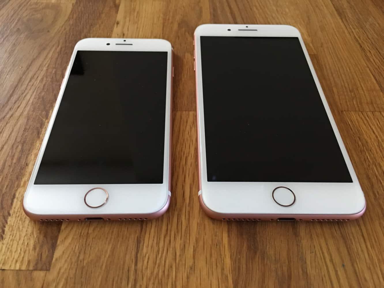 iPhone 7 and iPhone 7 Plus: Unboxing + comparison photos