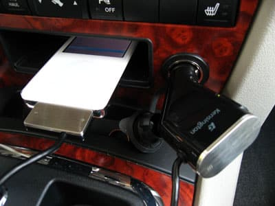 Review: Kensington RDS FM Transmitter/Car Charger for iPod