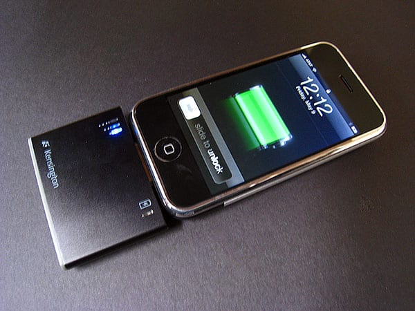 Review: Kensington Mini Battery Pack and Charger for iPhone and iPod