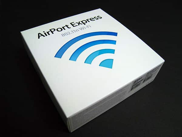 AirPort Express 802.11n, Unpacked