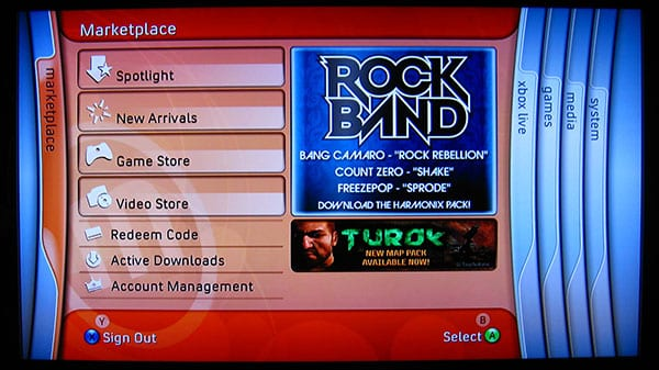 Xbox Live Marketplace: Could Apple TV Learn Anything From Microsoft?
