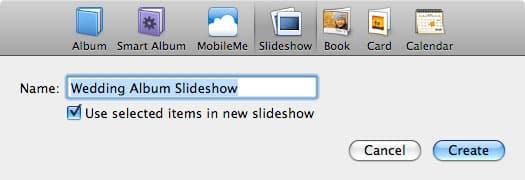 Creating custom slideshows for Apple TV