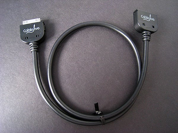 First Look: CableJive Dock Extender Cable for iPod and iPhone