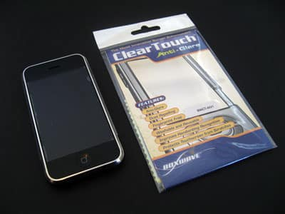 Review: BoxWave ClearTouch Anti-Glare Screen Protector for Apple iPhone