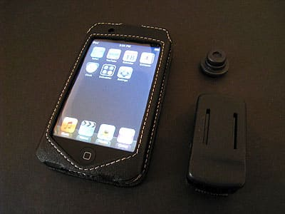 Review: PDair Sleeve Type Leather Case for iPod touch