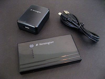 Review: Kensington Portable Power Pack for Mobile Devices
