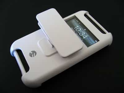 First Look: SwitchEasy VisionClip Smart Holster for iPhone