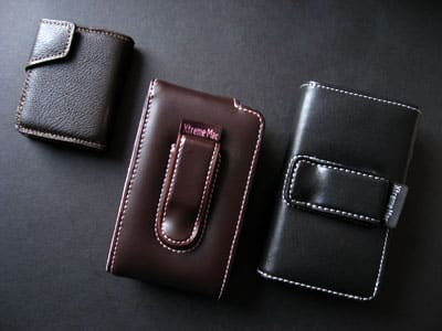 Review: XtremeMac Verona Flip Leather Cases for iPod nano, classic & touch