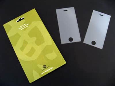 First Look: Power Support Anti-Glare Film Set for iPhone