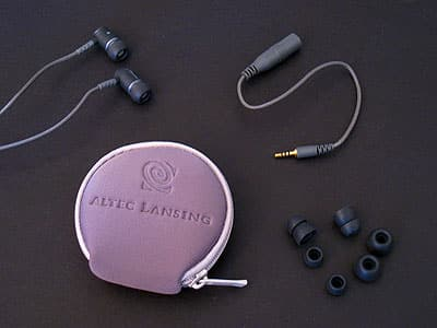 Review: Altec Lansing UHS306 SnugFit Earphones with Microphone