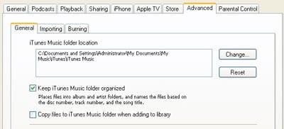 External hard drives and iTunes