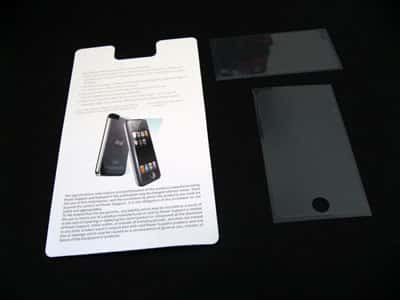 First Look: Power Support Anti-Glare Film Set for iPod touch
