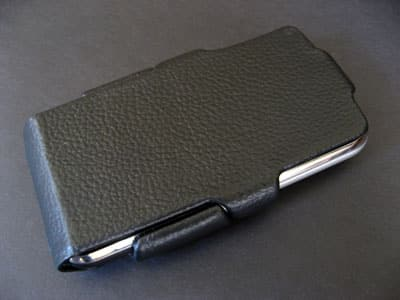 Review: Case-Mate Leather Flip Case for Apple iPhone