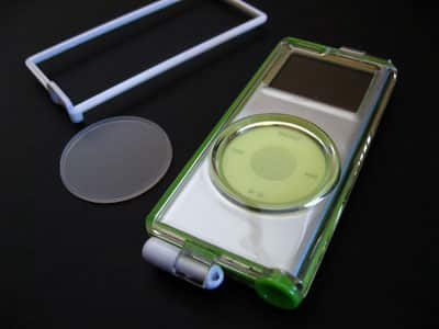 First Look: Capdase Crystal Clear Case for iPod nano 2nd Generation