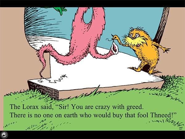 iPhone + iPad Gems: Edutainment – Baby Einstein, Fish School, The Lorax + Seuss Send