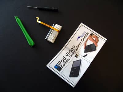 First Look: Blue Raven Video iPod Battery Replacement Kit