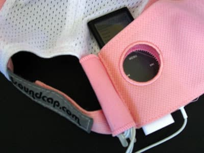 First Look: iSoundCap Running Hat for iPod nano