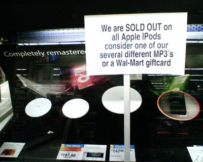 Insane iPod sales, inventory management issues, or both?