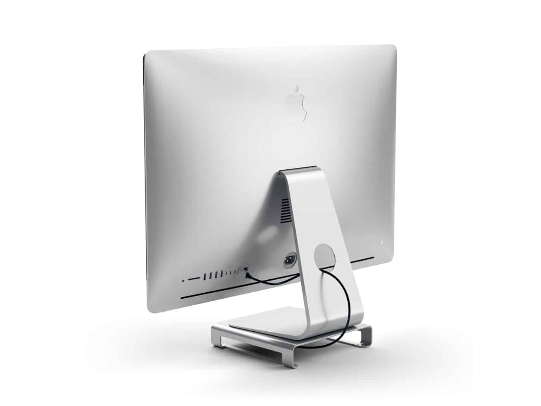 Satechi Type-C Aluminum Monitor Stand Hub for iMac